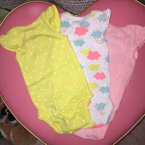 3 Carter's onesies